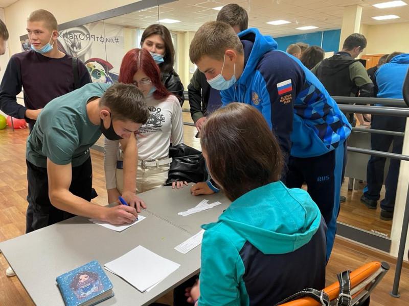 В Ангарске молодые избиратели дали обещание серьезно подходить к праву выбора
